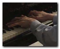 Bj�rn spielt von Johann Sebastian Bach: Fuga d-moll