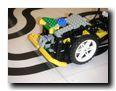Modifizierter RoverBot mit Lichtblende
