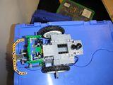 Effizienter Einsatz von Lichtblende und Schleifkontakt (RoverBot-Modifikation)